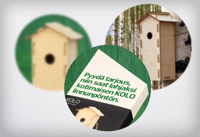 Työnäyte: Keitele Forest, kylkiäinen, asiakasslahja
