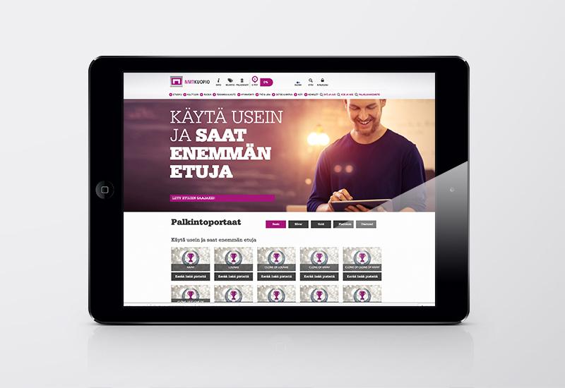 Työnäyte: NMT, digitaalinen julkaisu, digimedia