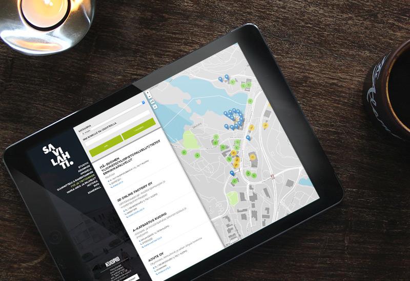 Työnäyte: Kuopion kaupunki, Savilahti, yrityshaku, digitaalinen markkinointi