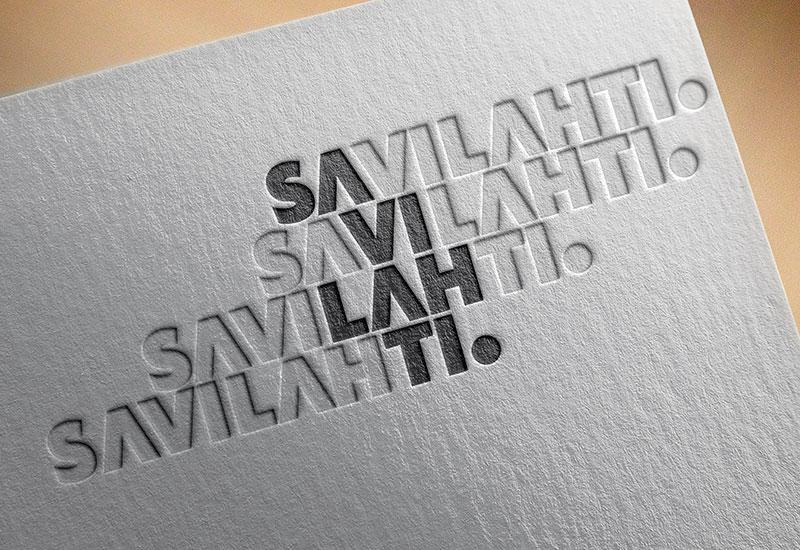 Työnäyte: Kuopion kaupunki, Savilahti, logo, aluebrändi