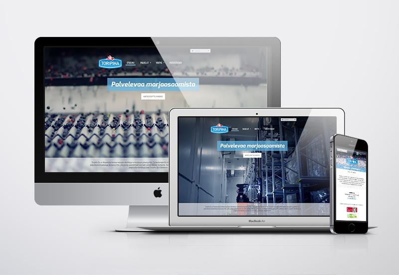 Työnäyte: Toripiha, video internetsivuilla, yritysvideo